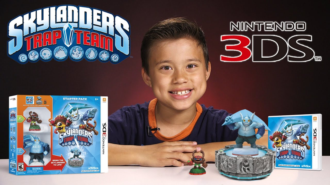 Skylanders TRAP TEAM for Nintendo 3DS FIRST LOOK! EvanTubeHD Exclusive!