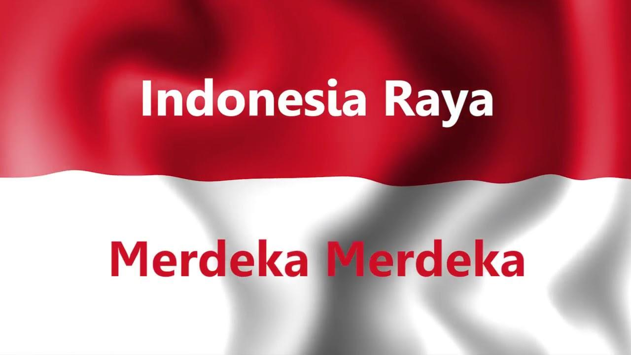 LAGU Indonesia Raya Dengan Intro Dan Text