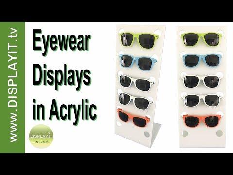 Eyewear Displays In Acrylic - Wholesale Prices