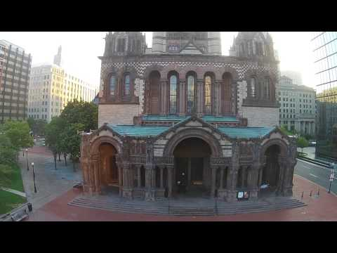 Drone Flying in Boston