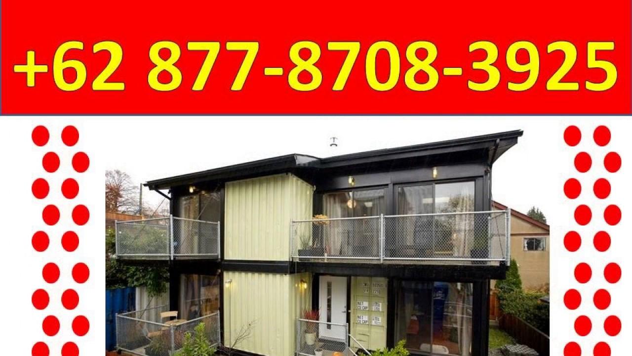 Desain Rumah Kontainer Bekas 0877 8708 3925 Bekas YouTube
