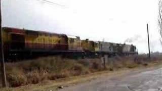 Tren a Cañada Onda, en entre Palmira y Rodeo del Medio II