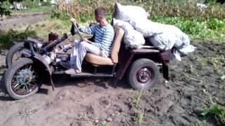 Баги, картинг, мини трактор с ураловским одноцелиндровім двигателем
