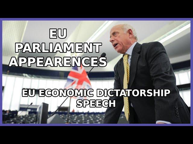 'It's A Manifesto For European Economic Dictatorship!' - Godfrey Bloom Speaks Truth Once Again
