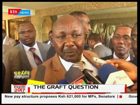 The graft question as Kenya is ranked 3rd corrupt Worldwide: Kivumbi 2017 pt 1