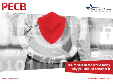 ISO 27001 in the world today, why you should consider it?