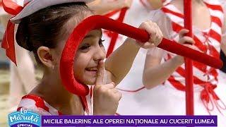 Micile balerine ale Operei Nationale au cucerit lumea