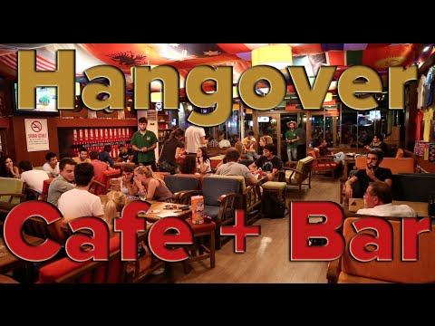Restaurants in Canakkale Turkey: Hangover Cafe & Bar