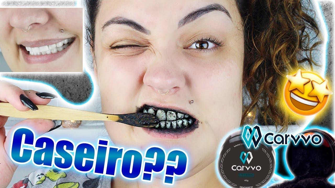Carvao Nos Dentes Para Clarear Funciona Youtube