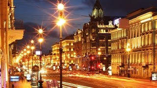 """Город, который есть... Ночной Петербург. Игорь Корнелюк """"Город, которого нет""""."""