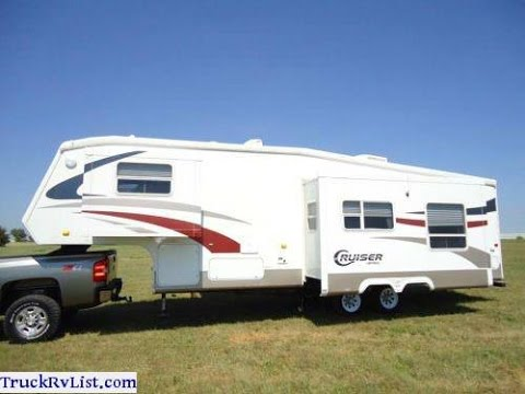 CROSSROADS CRUISER 5TH WHEEL TRAVEL TRAILER FOR SALE - YouTube
