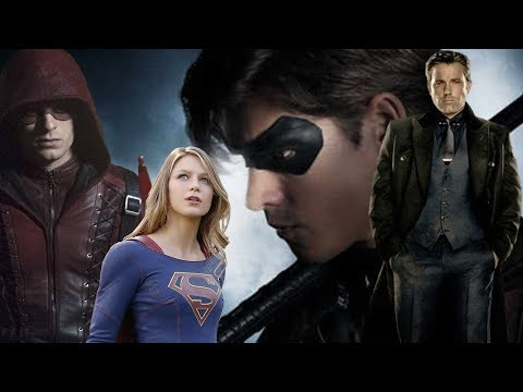 Batman Bruce Wayne To Be In TITANS TV Show Roy Harper Arrow Season 6 Teaser / New Supergirl Actress