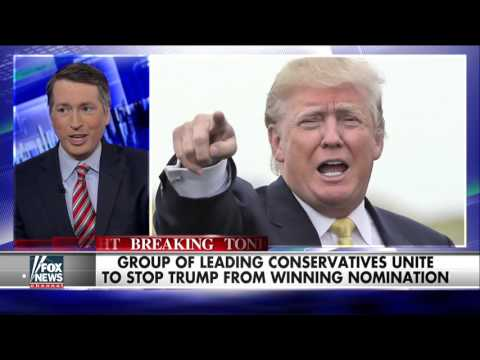 Leading conservative voices unite to stop Trump