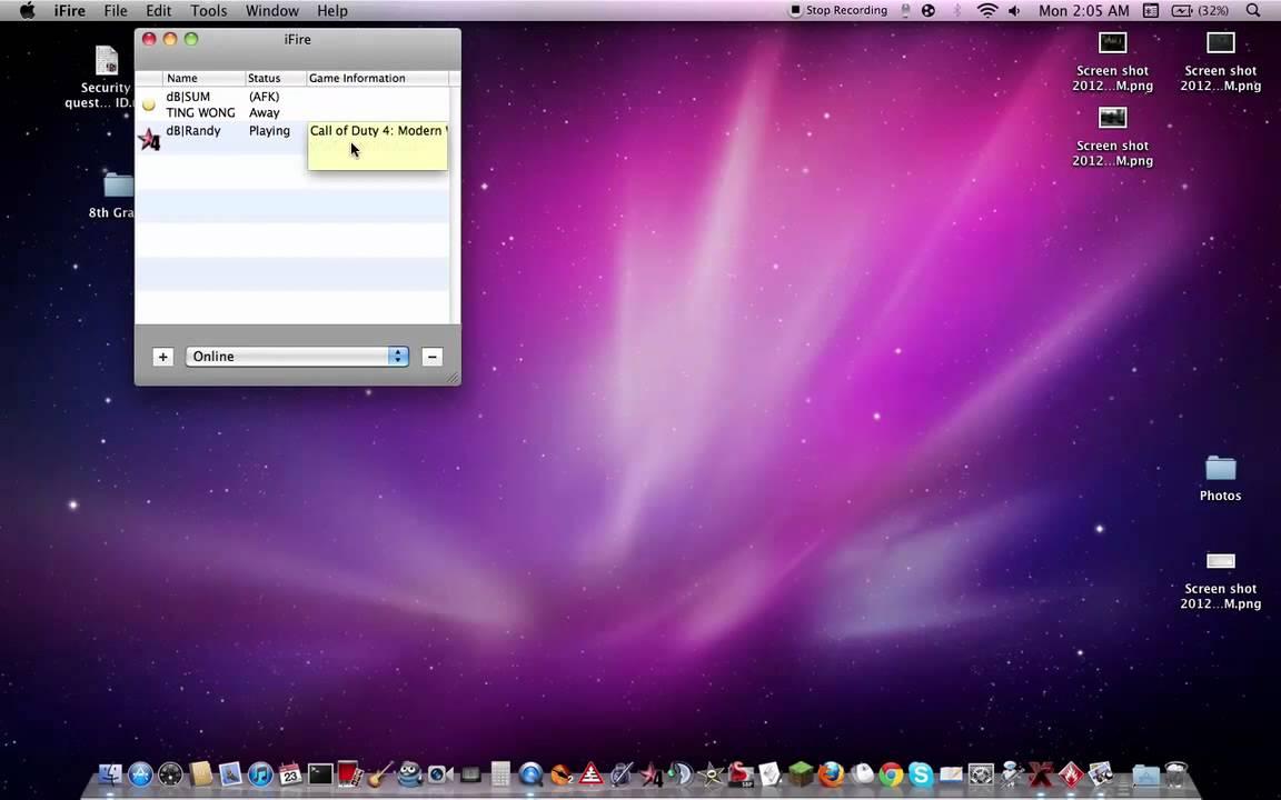 xfire mac