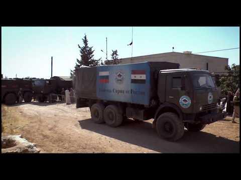 Humanitarian aid in Abu Jabbar Kebira, Aleppo. August.