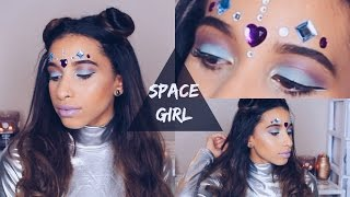 Space Girl Halloween Costume Tutorial + Outfit | Rebeca Ivory