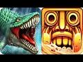 Temple Run 2 vs Jurassic Dino Water World