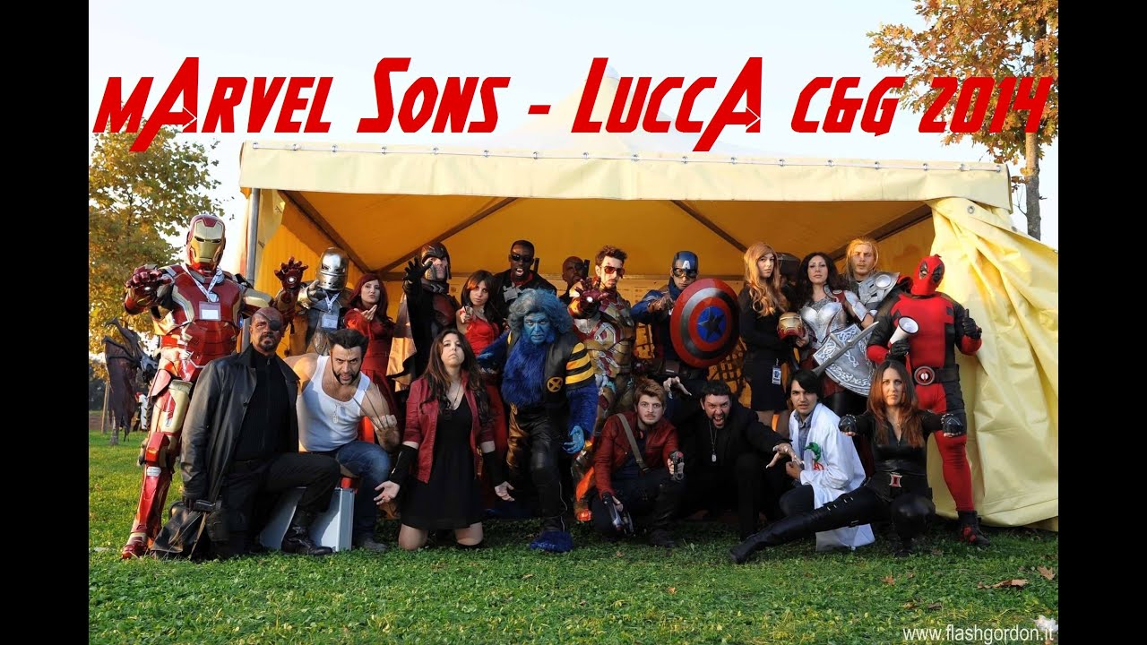 LUCCA COMICS  COSPLAY 2014   MARVEL SHOW1