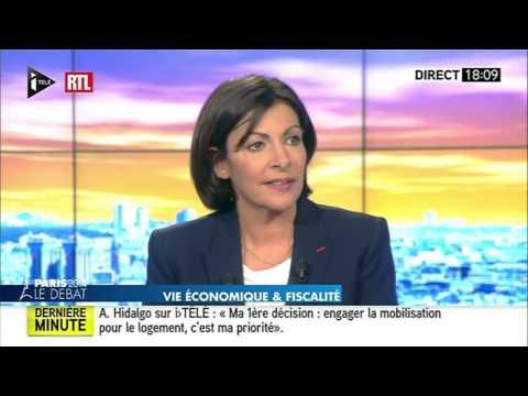 Le débat entre Anne Hidalgo et Nathalie Kosciusko-Morizet du 26 mars 2014 (première partie) - RTL