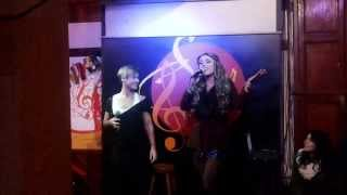 Video Luz Violeta: y sus dotes de cantante junto a Ma. Jimena Pereira... download MP3, 3GP, MP4, WEBM, AVI, FLV Mei 2018