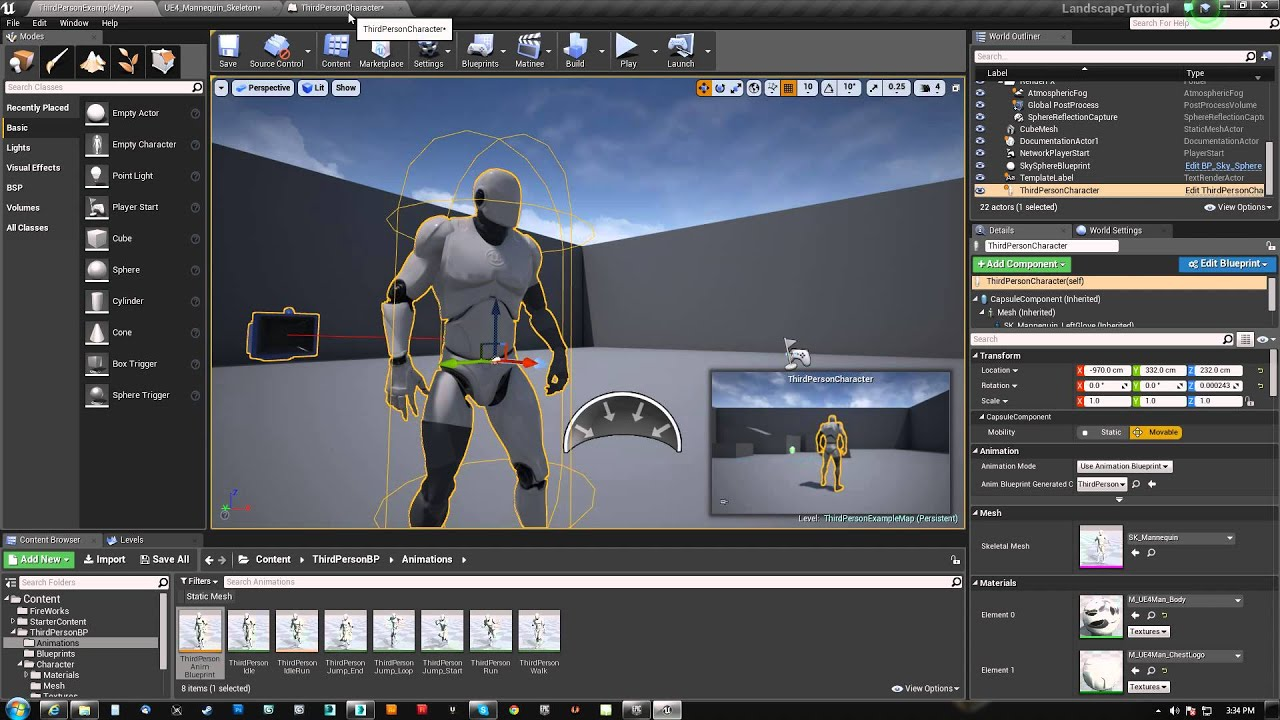 695b8b46e UE4 How to Synch Animated Armor - YouTube