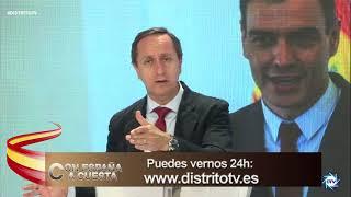 CARLOS CUESTA a SÁNCHEZ: Está dando pasos de GIGANTES para llevar a ESPAÑA a una DICTADURA