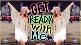 Get Ready With Me Lana Del Rey Concert // Ft. Issa By Foreo