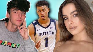 Bryce Hall SHUTS DOWN Jordan Tucker For Addison Rae! | Hollywire