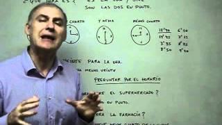aula espanhol grtis 64 as horas em espanhol