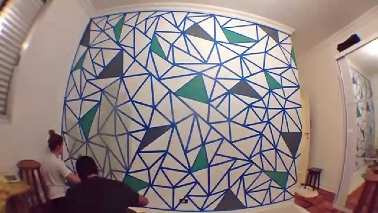 Como fazer um mosaico na Parede  YouTube