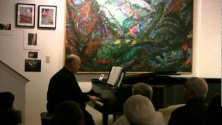 "Stephen Fierros plays ""Einsame Blumen"" from Waldszenen, Op. 82 by Robert Schumann"