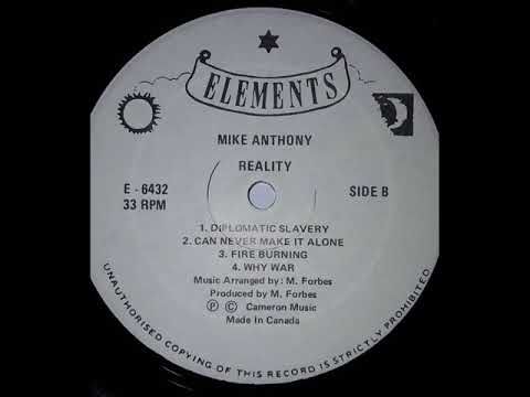 Mike Anthony - Fire Burning