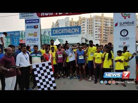 Run To Stop Child Abuse - Grand Marathon at Chennai