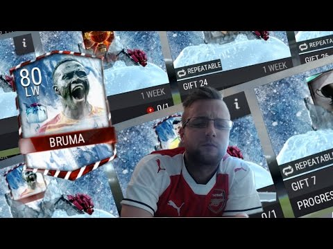 FIFA Mobile Gift Opening! New Gifts in FIFA Mobile 17! What's inside Melted Football Freeze Gifts?
