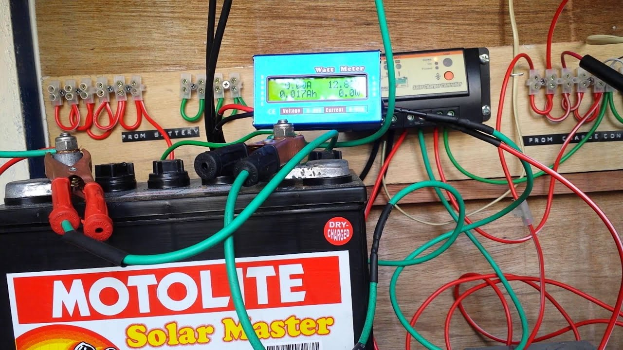 Does A Solar Charge Controller Consume Power Youtube