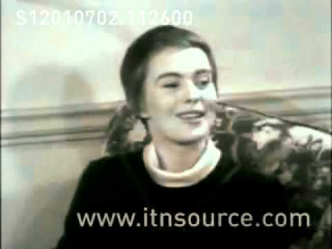 Otto Preminger and Actress Jean Seberg interviewed   YouTube