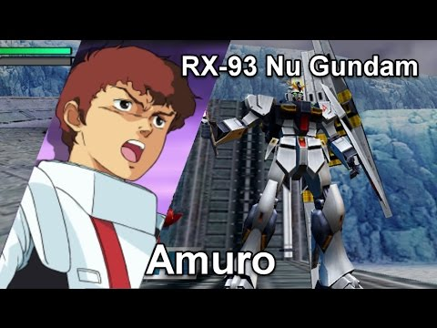 Gundam Vs. Gundam NEXT PLUS: Nu Gundam - Arcade Mission F