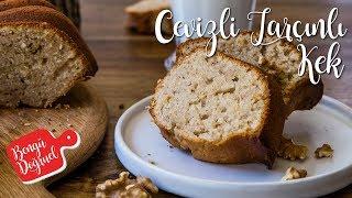 Tarçınlı Cevizli Yumuşacık Kek Tarifi- Kolay Cevizli Kek Nasıl Yapılır? (Kek Tarifleri)