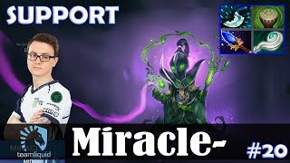 Miracle - Rubick Roaming   SUPPORT   Dota 2 Pro MMR Gameplay #20