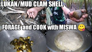 HOW TO CATCH LUKAN (Mud Clam Shell) Catch and Cook