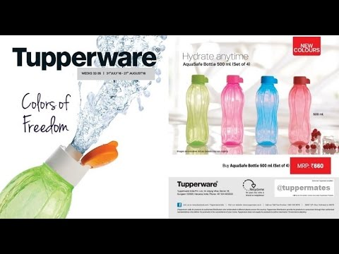 Tupperware India Flyer August 2016