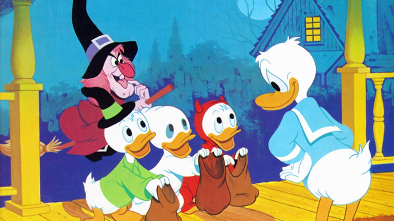 Trick or Treat (1952) – Vintage Halloween Disney Song - YouTube
