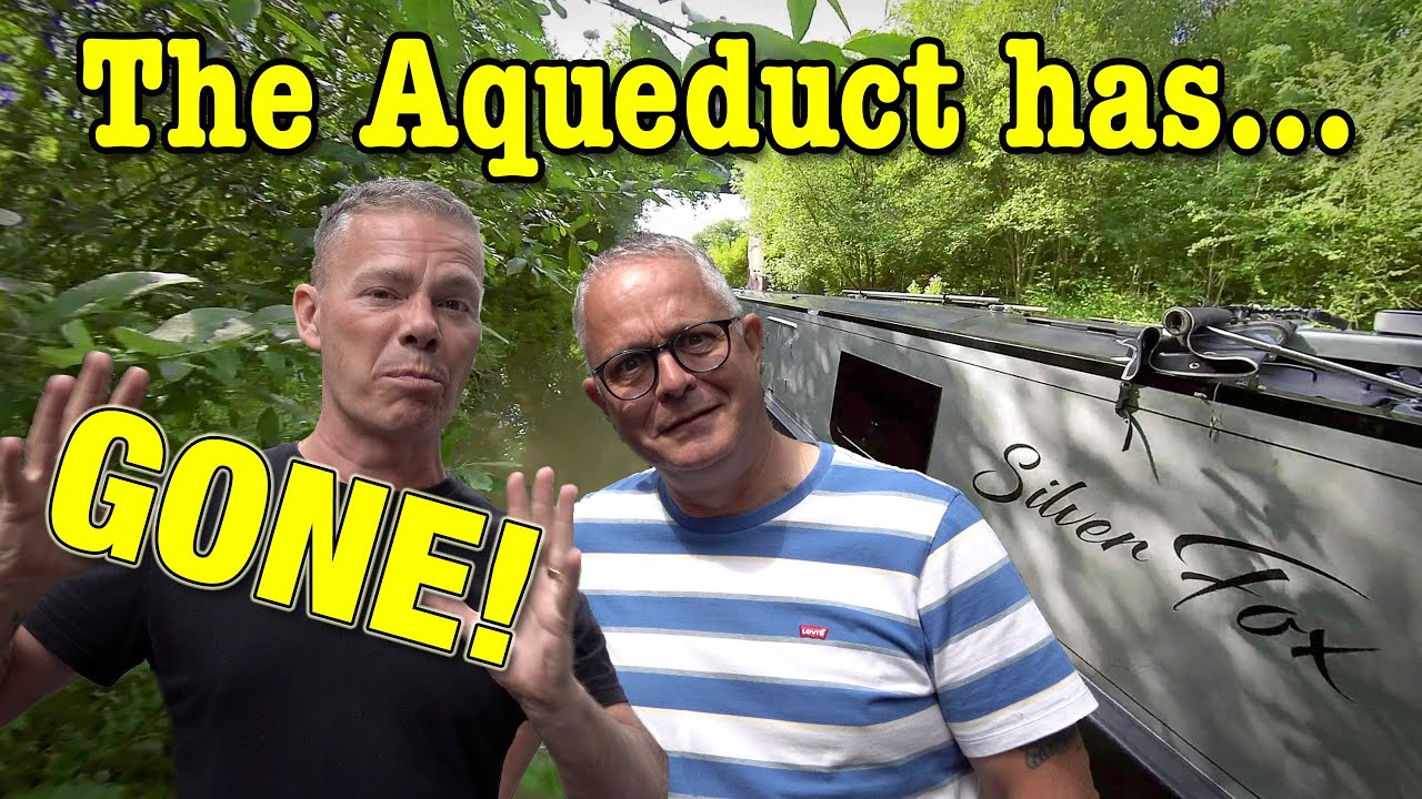 The HUGE Forgotten Canal Aqueduct Buried In Time!