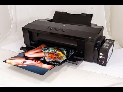 Epson L1800 Unboxing Test Amp Review In Bengali Bangla
