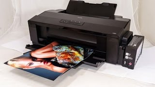 EPSON L1800 - UNBOXING TEST & REVIEW IN BENGALI (Bangla) - RICKPEDIA