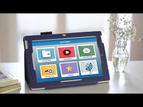 Das Senioren-Tablet von Media4Care