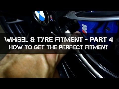 How To Get Perfect Wheel / Rim Fitment - Complete Wheel Fitment Guide - Part 4