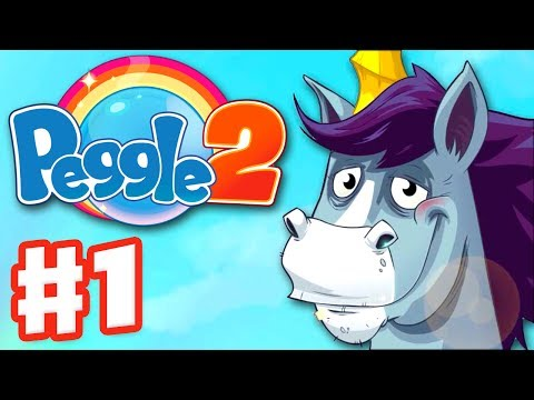 Peggle 2 - Gameplay Walkthrough Part 1 - Bjorn Peggle Institute (Xbox One Extreme Fever)