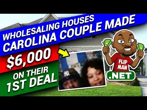 $6,000 Made on Their First Deal Wholesaling a House | North Carolina Couple Tells How They Did It