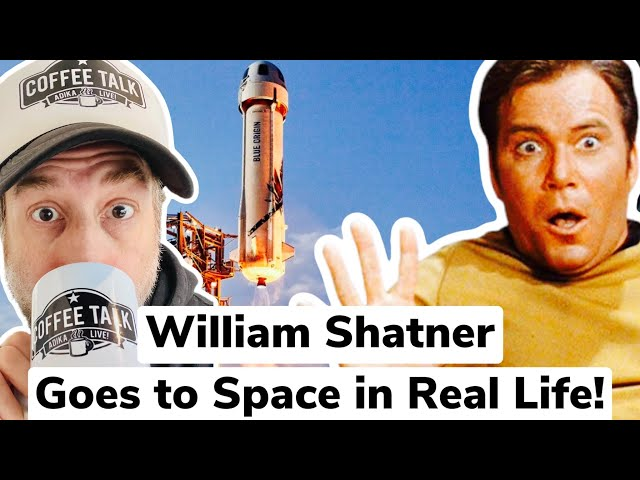 William Shatner Space Launch  Live!